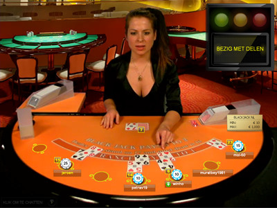 live blackjack bij oranje casino