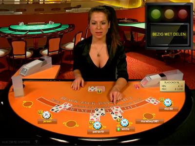 live blackjack bij oranje casino